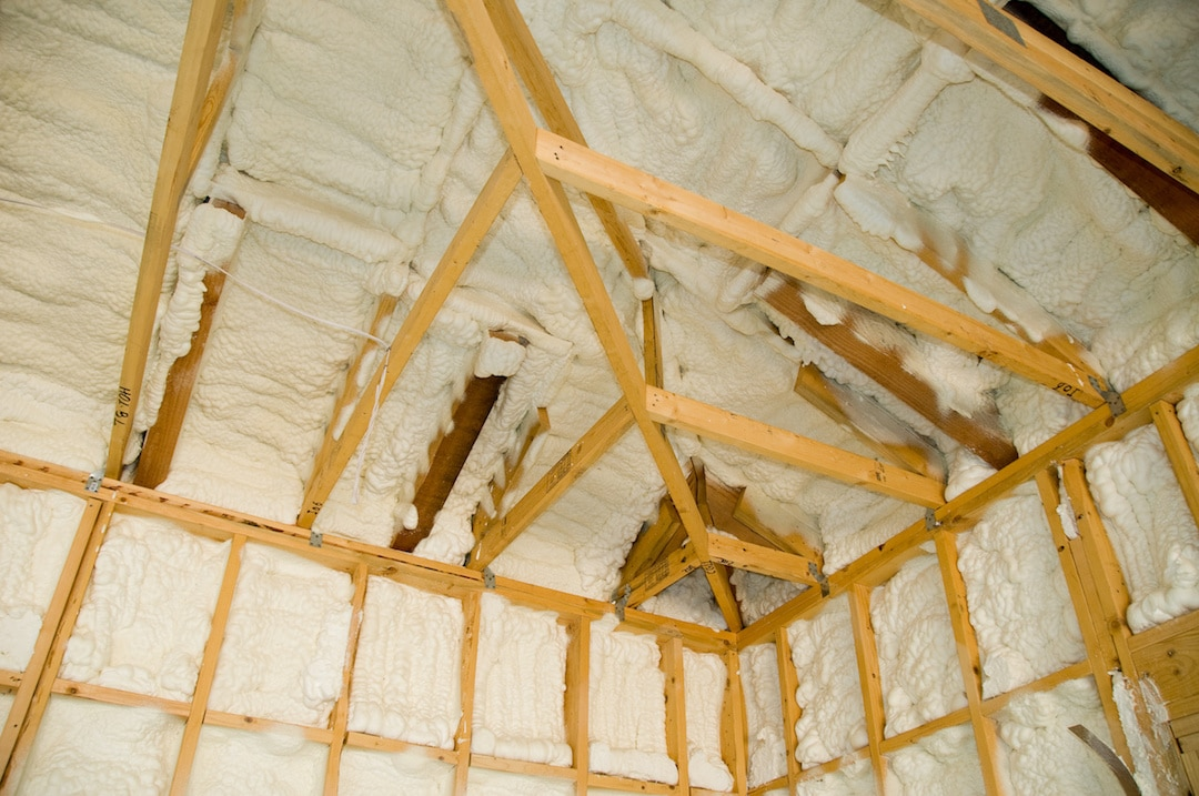 Spray Foam Insulation Attic Installation Grand Rapids MI