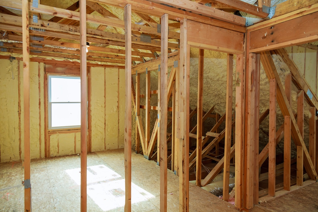 Spray Foam Insulation Attic Installation Grand Rapids