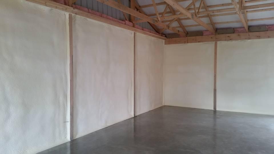 Pole Barn Spray Foam Insulation Lansing 03