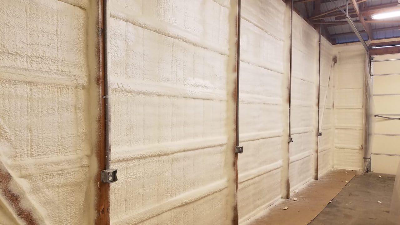 Spray Pole Barn Insulation Michigan