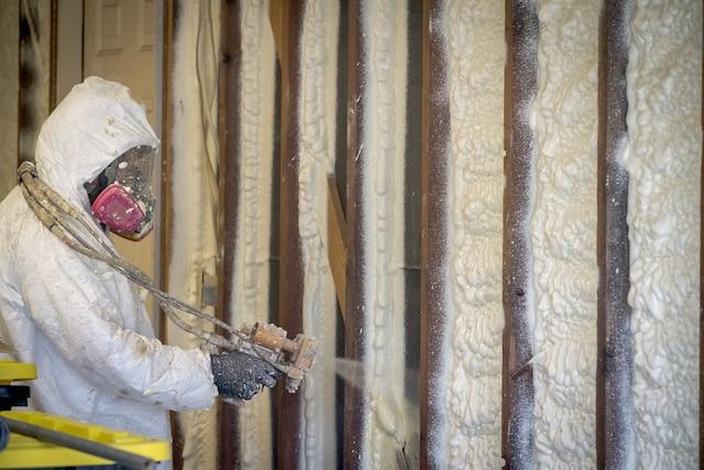 Installing Spray Foam Insulation Holland MI