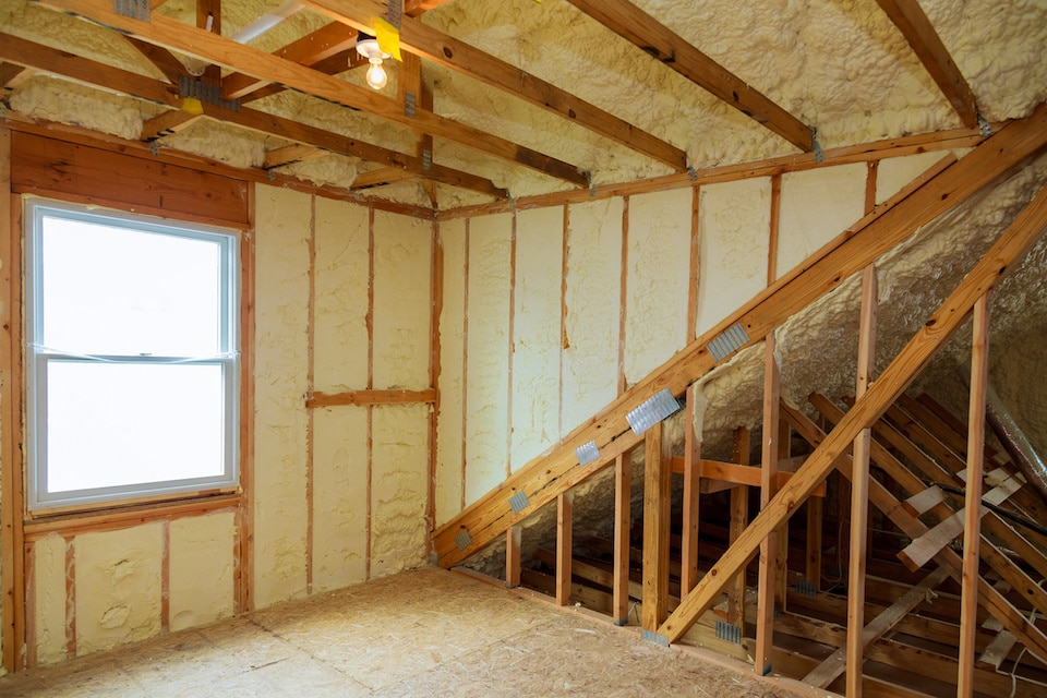 Attic Foam Insulation Ann Arbor MI