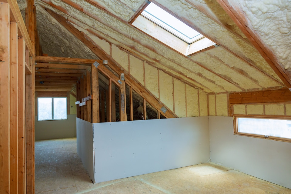 Attic Spray Foam Insulation Ann Arbor MI