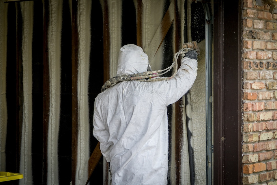 Wall Spray Foam Insulation Detroit MI